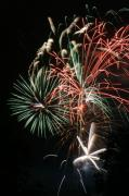 4th July Digital Art Posters - Fireworks6490 Poster by Gary Gingrich Galleries