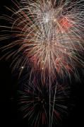 4th July Digital Art Posters - Fireworks6503 Poster by Gary Gingrich Galleries