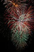 4th July Digital Art Posters - Fireworks6506 Poster by Gary Gingrich Galleries