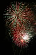 4th July Digital Art Posters - Fireworks6509 Poster by Gary Gingrich Galleries