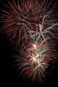4th July Digital Art Posters - Fireworks6518 Poster by Gary Gingrich Galleries