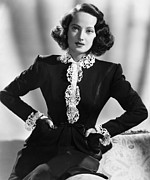 1943 Movies Photos - First Comes Courage, Merle Oberon, 1943 by Everett