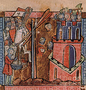 First Crusade Germ Warfare Siege Print by Photo Researchers