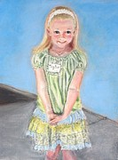 Pride Paintings - First Day of Kindergarten by Susan  Clark
