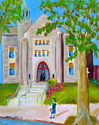 Philly Paintings - First Day Of School by Marita McVeigh