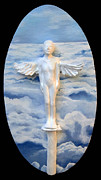 Religious Reliefs Originals - First Flight by Janet Knocke