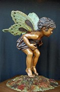 Fantasy Sculptures - First Flight by Ruth Gee