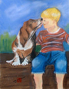 Hounds Originals - First Kiss by Arlene  Wright-Correll