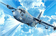 Ac-130 Framed Prints - First Lady Framed Print by Charles Taylor