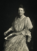 First Lady Framed Prints - First Lady Edith Kermit Roosevelt, Wife Framed Print by Everett