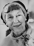 Hair Styles Posters - First Lady Mamie Eisenhower. Ca. 1960 Poster by Everett