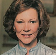 First Ladies Framed Prints - First Lady Rosalynn Carter Framed Print by Everett