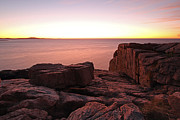 Acadia National Park Photos - First Light by Juergen Roth