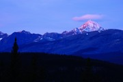 Mountain Photos - First Light by Larry Ricker
