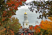 Concord Massachusetts Metal Prints - First Parish Church Metal Print by Joann Vitali