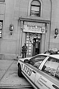 New York Police Station Framed Prints - First Precinct NYC Framed Print by Robert Lacy
