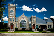 Christopher Holmes Metal Prints - First Presbyterian Church of Eustis Metal Print by Christopher Holmes