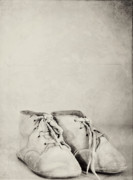 Rebecca Robinson Metal Prints - First Shoes Metal Print by Rebecca Robinson