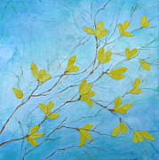 Impressionist Mixed Media - First Signs of Spring by Carla Parris