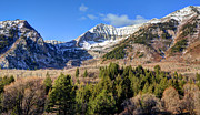 Aspen Grove Prints - First Snow on Mt. Timpanogos - Utah Print by Gary Whitton