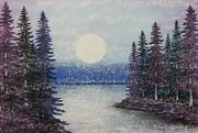Rhythm And Blues Pastels - First Snow by Richard Van Order