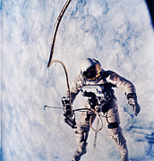 Spaceflight Art - First Spacewalk by Nasa