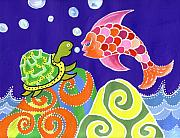 Lynnda Rakos - Fish and Turtle