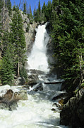 Steamboat Framed Prints - Fish Creek Falls Framed Print by Julie Rideout