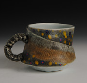 Outdoors Ceramics Originals - Fish Cup by Mark Chuck