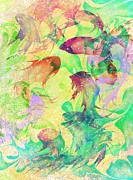 Fantasy Digital Art Prints - Fish Dreams Print by Rachel Christine Nowicki