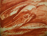 Sienna Prints - Fish Print by E Dan Barker