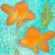 Fish For Free Print by Micki  Moss