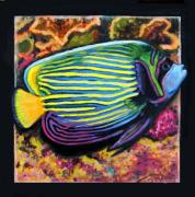 Fish Underwater Painting Originals - Fish number 2 by John Lautermilch