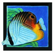 Bright Colors Metal Prints - Fish Number Four Metal Print by John Lautermilch