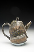 Brook Ceramics - Fish Teapot by Mark Chuck