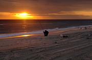 Mary Almond - Fisherman at sunrise