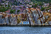 Cabin Window Photos - Fisherman cabin by Claude Gariepy