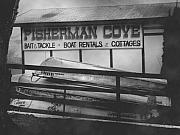 Indiana Landscape Posters - Fisherman Cove Poster by Michael L Kimble