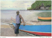 Wilfrid Barbier - Fisherman in St-Lucia