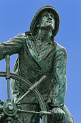 Glouster Metal Prints - Fishermans Memorial Metal Print by John Greim