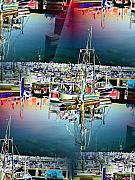 Trawler Metal Prints - Fishermans Terminal 3 Metal Print by Tim Allen