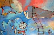 Fishing Boats Originals - Fishermans Trials by Charlie Spear