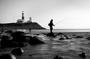 Montauk Photos - Fishermens Heart by Bernard Chen
