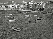 Sicily Photos - Fishers harbour by Girolamo Cavalcante