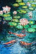 Nandita  Richie - Fishes in LOTUS pond