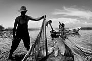 Photography Prints Originals - Fishing - 6 by Okan YILMAZ