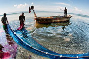 Fishermen Photos - Fishing - 12 by Okan YILMAZ