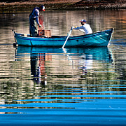 Lagoon Prints - Fishing - 14 Print by Okan YILMAZ