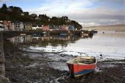 Beached Photos - Fishing Boat At Tobermory, Isle Of by John Short