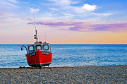 Trawler Metal Prints - Fishing boat D449 Metal Print by Richard Thomas